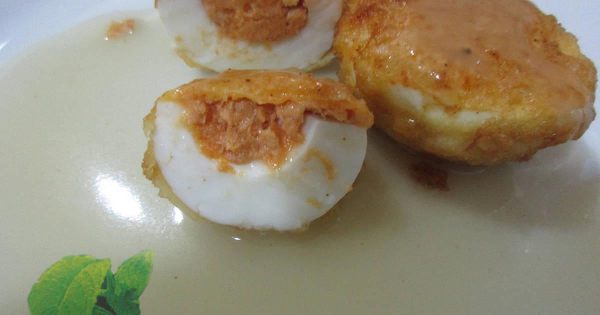 Recetas de cocinar huevos de pescado recetas cookpad for Cocinar yemas de huevo