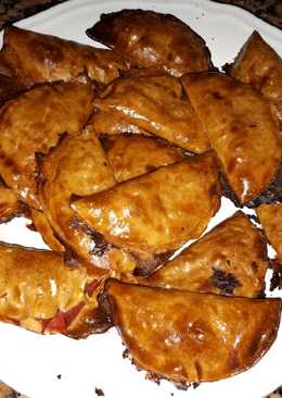 Empanadillas rellenas de pisto al horno