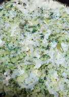 Tortilla de brócoli al horno