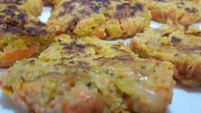 Tortitas de zanahorias