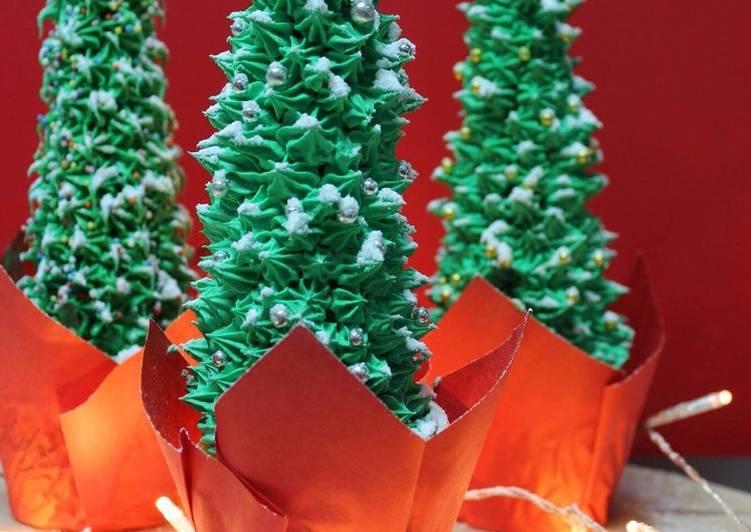 cupcakes con arbolitos de navidad - Arbolitos De Navidad