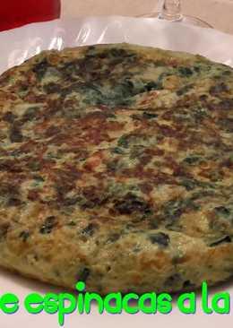 Tortilla de espinacas a la catalana*
