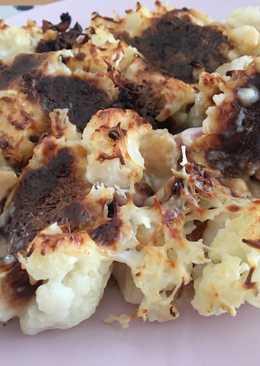 Coliflor con bechamel y queso al horno 🤤
