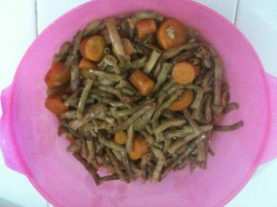 Habichuelas con zanahorias