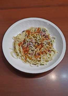 Espaguetis a la carbonara