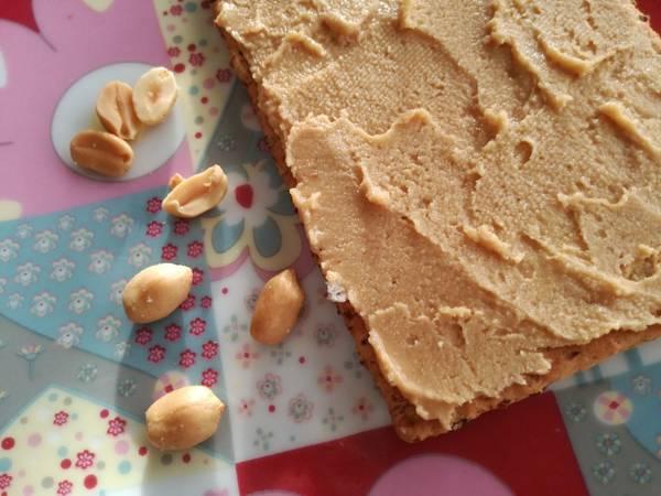 Crema o mantequilla de cacahuete saludable (BLW)