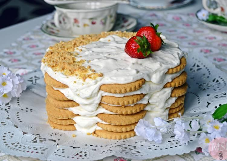 Tarta de galletas y limón {sin gluten}