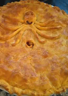 🐙 Empanada Gallega de Pulpo 🐙(A mi manera)