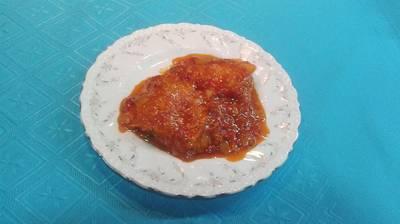 Bacalao fresco con tomate