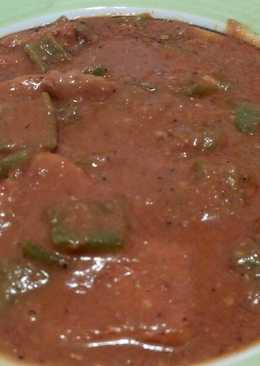 Cerdo con salsa de ñoras