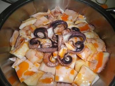 """""""calamares ría de arousa en salsa"""""""