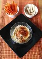 Hummus de aceitunas verdes