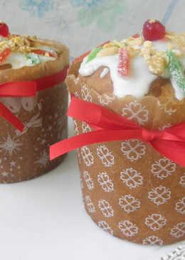 Pan dulce navideño fácil con harina leudante