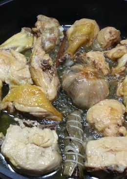 Pollo asado al estilo Bou Magem