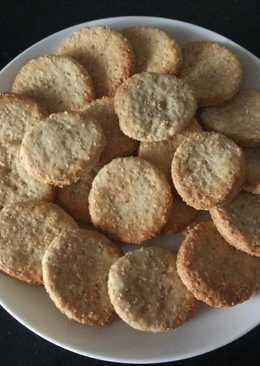 Galletas de Amaranto sin Azúcar ni Lácteos