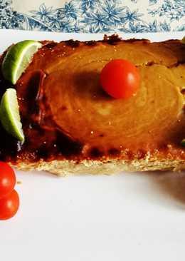 Suflé de carne con castañas y manzana