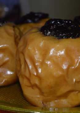 Manzanas al horno estilo del Cairo