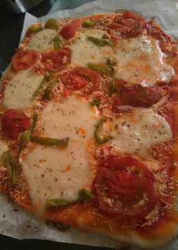 mozzarella fresca pizza
