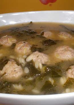 Sopa italiana de boda