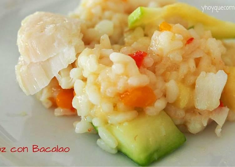 Arroz con bacalao receta de y hoy que comemos cookpad - Arroz con bacalao desmigado ...
