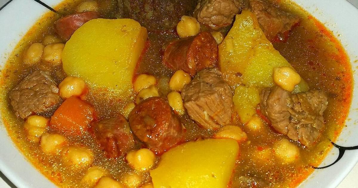 Recetas de cocido de garbanzos 145 recetas cookpad - Preparacion de garbanzos cocidos ...
