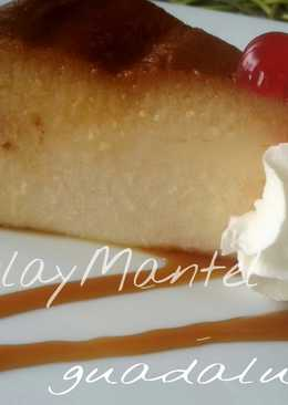 Flan de queso batido y leche evaporada en gme, gmf, gmg y tradicional
