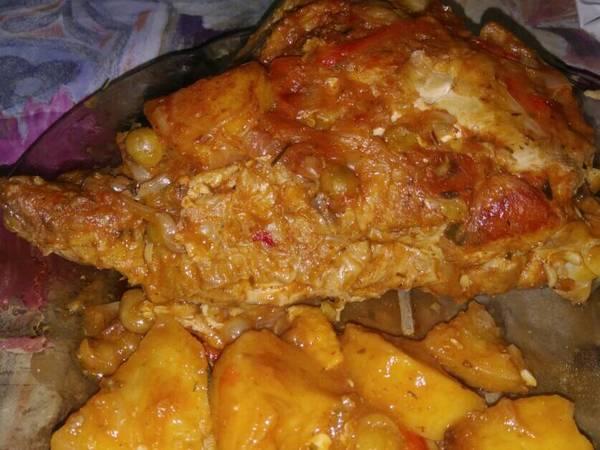 Pollo a la cacerola 🐔🍴🍷🍗🍲