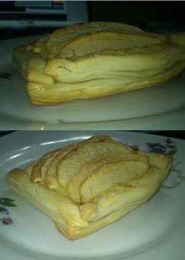 Facturas de manzana y pastelera con hojaldre casero