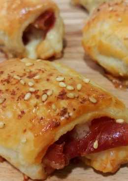 Saladitos de jamón serrano y queso