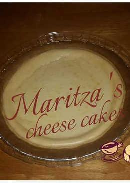 Pay de queso horneado a mi estilo