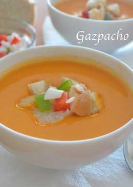 Gazpacho de la huerta. (Thermomix)