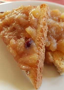 Mermelada de Apple Pie casera