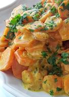 Zanahorias con Curry