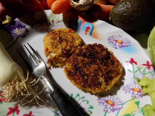 Hamburguesas saludables de quinoa (apto celiacos - vegetarianos)
