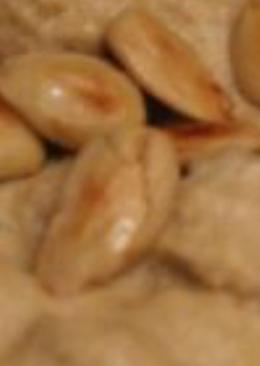 Pollo en salsa de almendras y manzana comida típica de ceuta