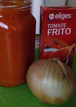 """Salsa de tomate """"fin de mes"""""""