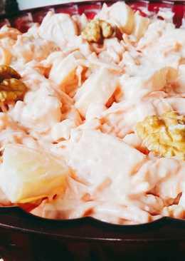Ensalada de palmitos y ananá especial de Navidad