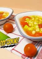 Ensalada Fresca de Pepino y Tomate