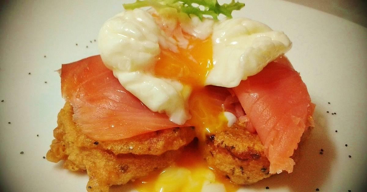 Tapas de salmon ahumado 18 recetas caseras cookpad - Tapas con salmon ahumado ...