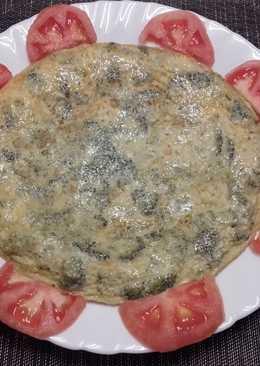 Tortilla de brócoli