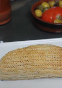 Solomillo relleno de plátano