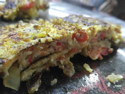 Omelette súper fácil y rico!