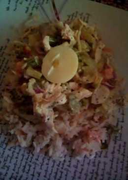 Salpicón de pollo express