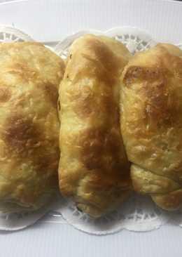 Empanadas rellenas de queso de cabra رغايف بالجبن فالفران