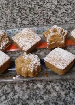 Budín de azúcar rubia y azúcar orgánica