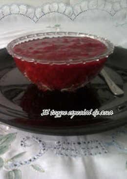 Mermelada de fresas con canela