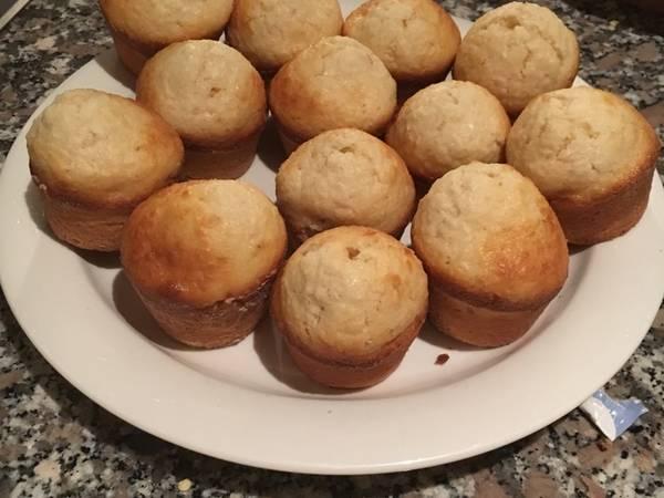 Muffins de coco🙉