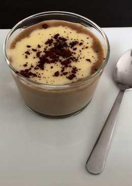 Natillas capuchino  Natillas de café  Natillas huevo y chocolate