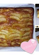 "Tarta de manzana cremosa con ""cobertura gelatinosa"" casera"