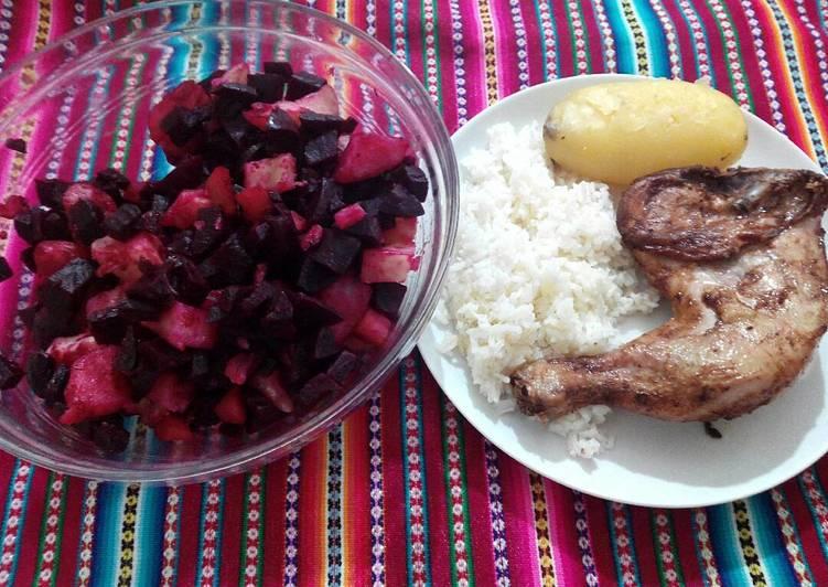 Recetas de ensaladas para acompanar pollo frito